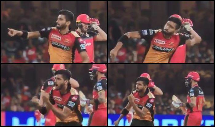 Khaleel Ahmed Virat Kohli IPL 2019 RCB vs SRH