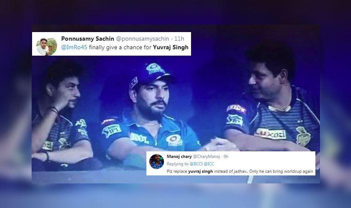 Yuvraj Singh IPL 2019 MI vs CSK
