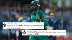 'Stay Strong': Asif Ali Loses Daughter Due to Cancer, Twitterverse Pour Heartfelt Condolences | POSTS