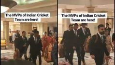 'Dhoni, Dhoni': Fmr Skipper Gets Loudest Cheer as Team India Leave For WC 2019 | WATCH
