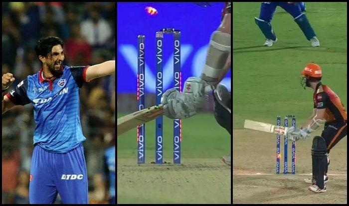 Ishant Sharma Kane Williamson SRH vs DC IPL 2019