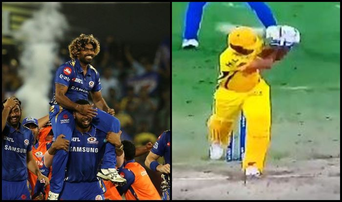 Ipl 2019 Lasith Malinga Becomes Last Over Hero As He Scalps Shardul Thakur As Mumbai Indians Beat Chennai Super Kings In Final To Clinch Record Fourth Title Watch Video India Com