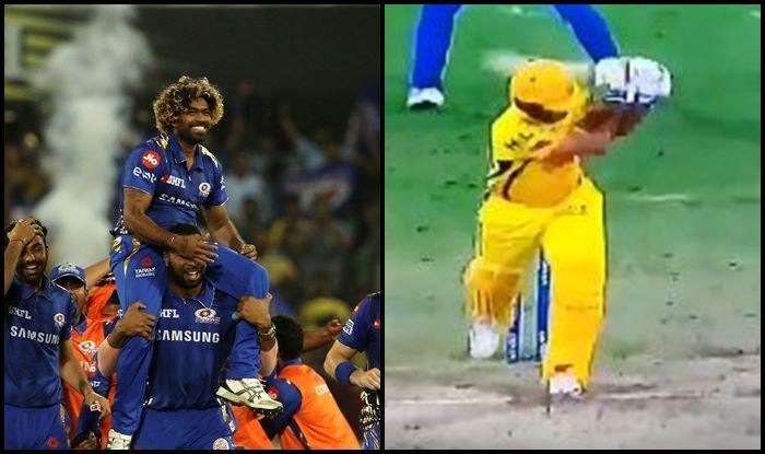 Lasith Malinga Shardul Thakur MI v CSK IPL 2019
