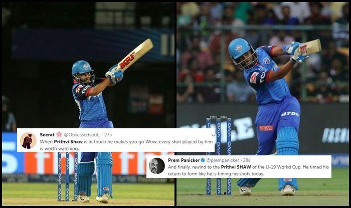 Prithvi Shaw IPL 2019 SRH vs DC