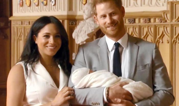 Meghan Markle And Prince Harry With Their Baby Boy For The First Time
