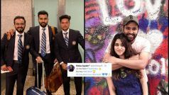 Hitman Leaves For WC 2019, Ritika's Motivational Message Cannot be Missed   POST