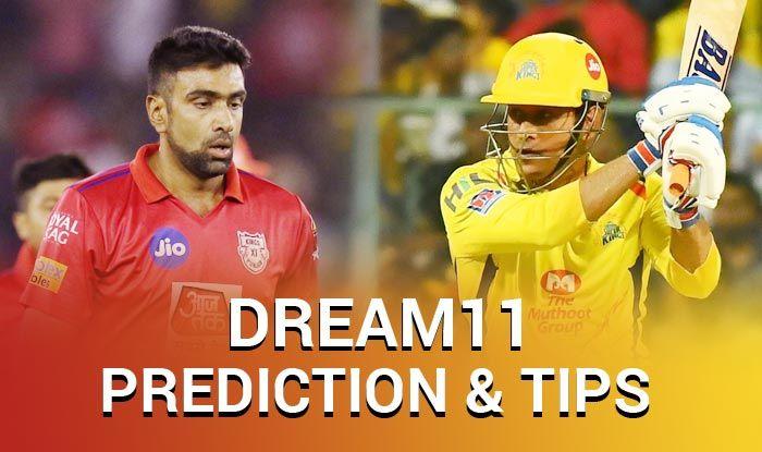 KXIP vs CSK Dream11 Team - Check My Dream11 Team, Best players list of today's match, Punjab vs Chennai Dream11 Team Player List, CSK Dream11 Team Player List, Dream11 Guru Tips, Online Cricket Tips IPL 2019.