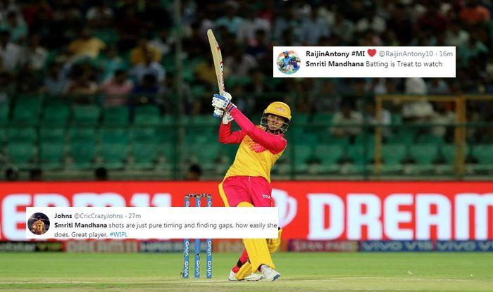 Smriti Mandhana Supernovas vs Trailblazers, 1st Match Women's IPL 2019