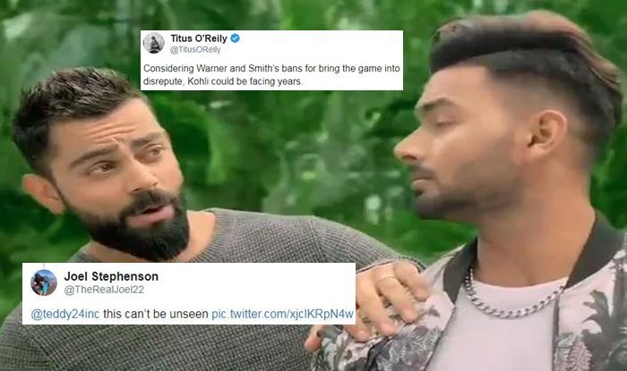Virat Kohli, Rishabh Pant Brutally Trolled For Their Rap During Endorsing New Ad Ahead of ICC World Cup 2019 | SEE POSTS