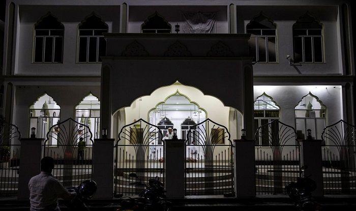 A mosque in Sri Lanka