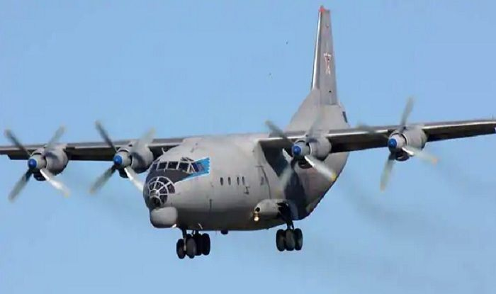 Antonov An-12 aircraft.