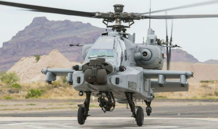 US Aerospace Major Boeing Hands Over First Apache Guardian Attack Helicopter to IAF