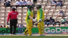 Clinical Australia Defeat England by 12 Runs in World Cup Warm Up Match