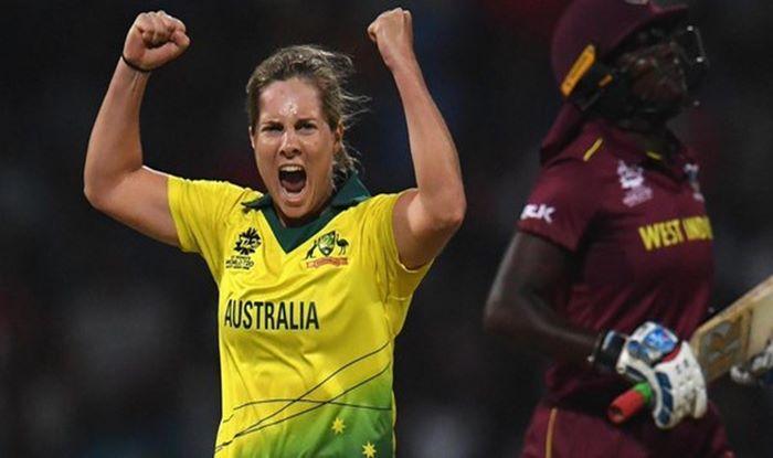 Australia spinner Sophie Molineux