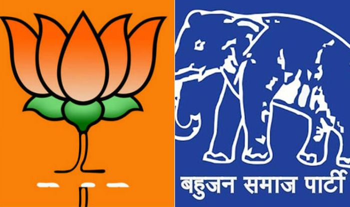 BJP and BSP party symbols