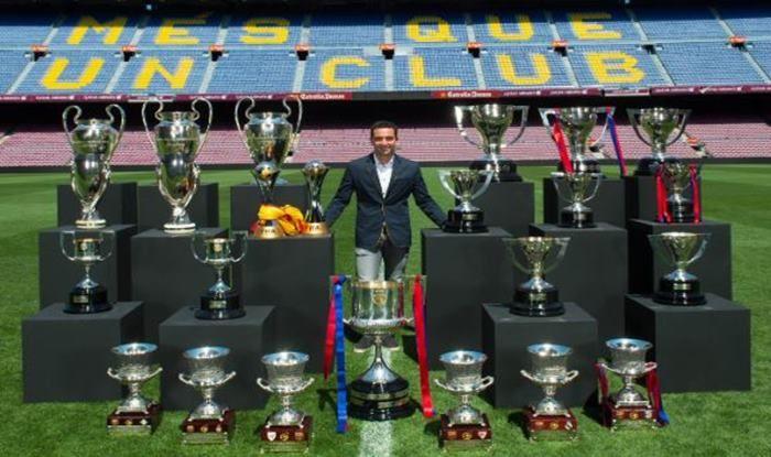 Barcelona legend Xavi hernandez retires from football_picture credits-Twitter