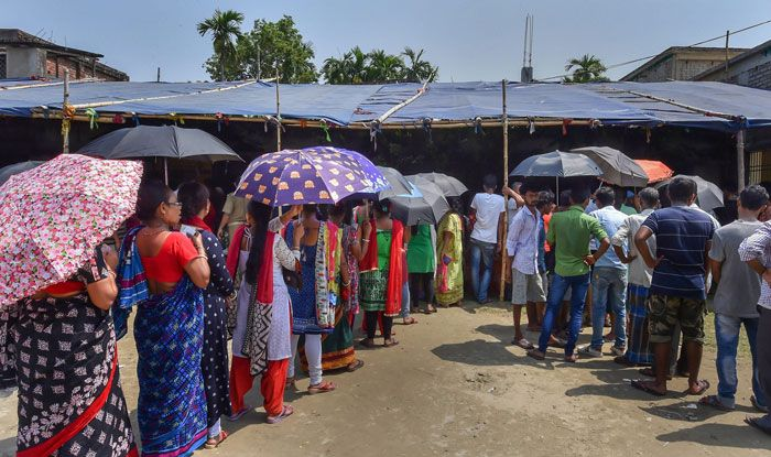 Polling in Barrackpore