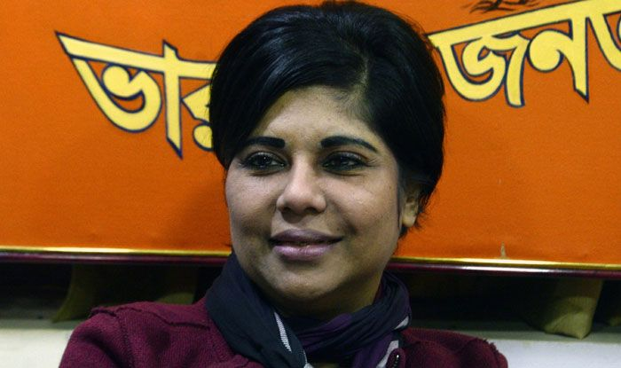 Former IPS officer and BJP candidate Bharati Ghosh