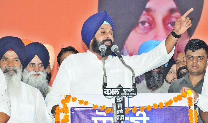 Shiromani Akali Dal leader Bikram Singh Majithia