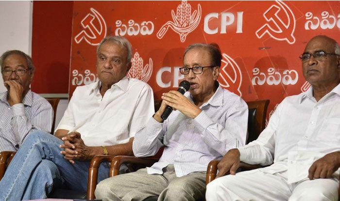 Communist Party of India leader Suravaram Sudhakar Reddy