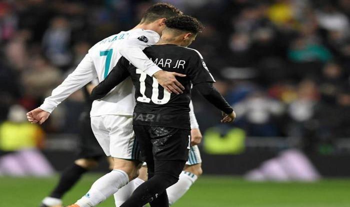 Cristiano Ronaldo and Neymar Jr_picture credits-Twitter