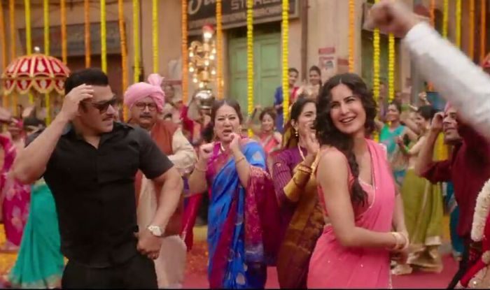 Bharat Song 'Aithey Aa' Twitter Reactions: Fans Praise Salman Khan, Katrina Kaif's Hot Dance Moves in Shaadi Wala Gaana