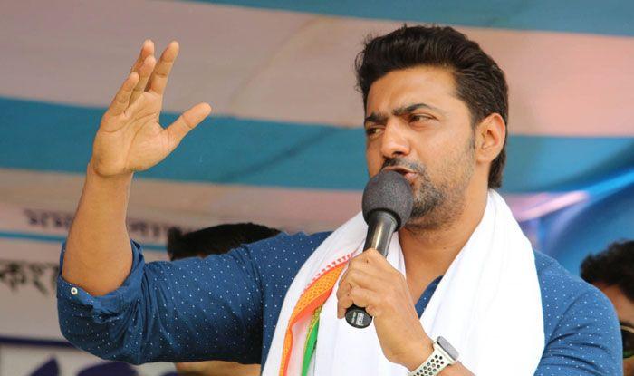 TMC candidate actor Dev alias Deepak Adhikari