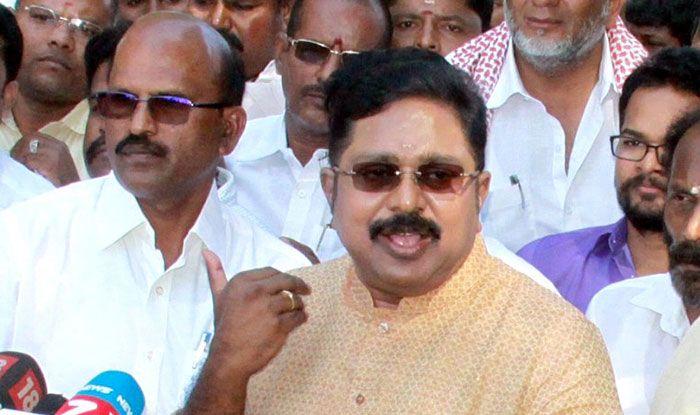 AMMK chief TTV Dhinakaran