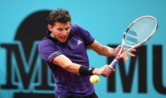 Dominic Thiem, Roger Federer, Novak Djokovic, Rafael Nadal, Madrid Open 2019, Tennis Tournament, Thiem vs Federer, ATP Masters 1000 event