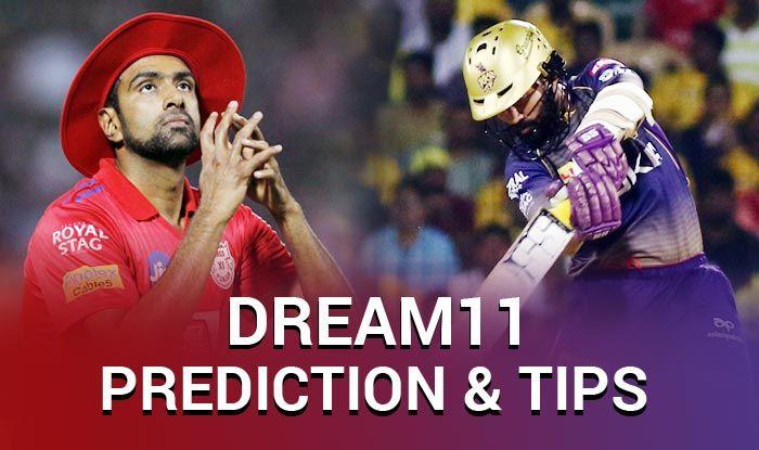 Dream11 Guru Prediction and Tips _ Kings XI Punjab vs Kolkata Knight Riders