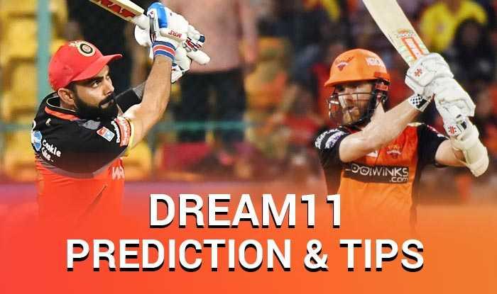 IPL 2019, RCB vs SRH Dream XI Predictions, Today Match Predictions,Today Match Tips, Today Match Playing xi, RCB playing xi, SRH playing xi, dream 11 guru tips, Dream XI Predictions for today match, ipl RCB vs SRH match Predictions, online cricket betting tips, cricket tips online, dream 11 team, my team 11, dream11 tips, Indian Premier League