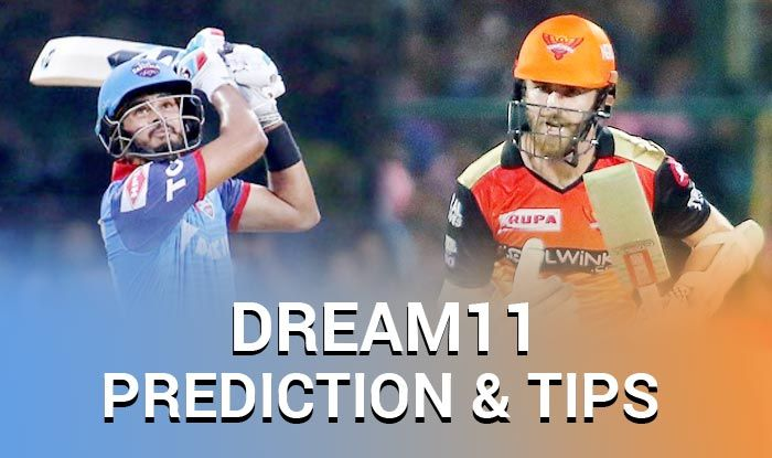 IPL 2019, DC vs SRH Dream XI Predictions, Today Match Predictions,Today Match Tips, Today Match Playing xi, DC playing xi, SRH playing xi, dream 11 guru tips, Dream XI Predictions for today match, ipl DC vs SRH match Predictions, online cricket betting tips, cricket tips online, dream 11 team, my team 11, dream11 tips, Indian Premier League
