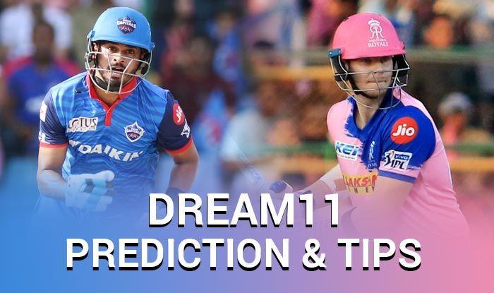 DC vs RR Dream11 Team - Check My Dream11 Team, Best players list of today's match, Delhi vs Rajasthan Dream11 Team Player List, DC Dream11 Team Player List, Dream11 Guru Tips, Online Cricket Tips IPL 2019.