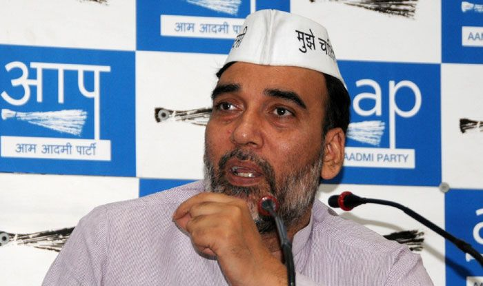 Aam Aadmi Party Delhi chief Gopal Rai