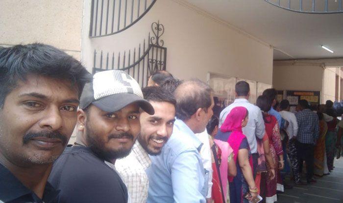 Polling in Haryana