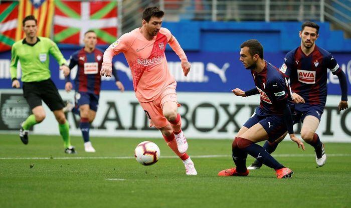 Lionel Messi nets a brace against Eibar in La Liga_Picture credits-Twitter