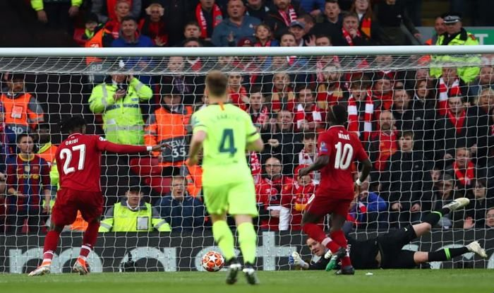 Liverpool defeats Barcelona 4-0 in UEFA Champions League _Picture Credits-Twitter