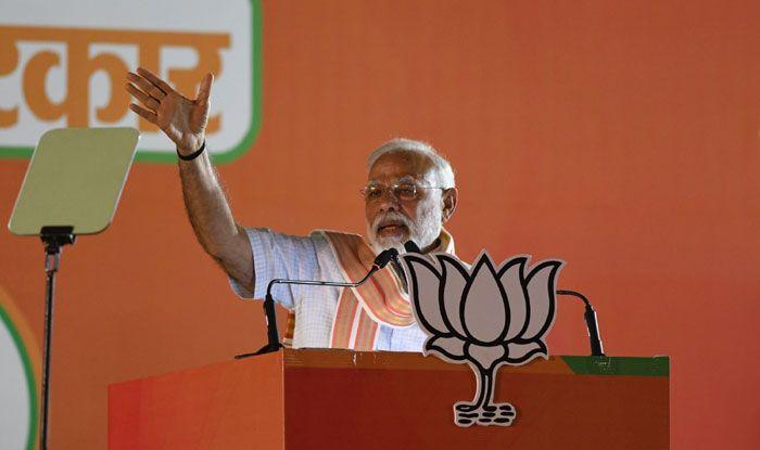 Prime Minister Narendra Modi in New Delhi