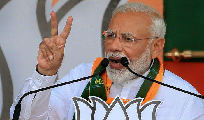 Prime Minister Narendra Modi in Deoghar