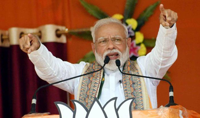 Prime Minister Narendra Modi in Paliganj
