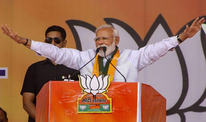 Prime Minister Narendra Modi in Rohtak