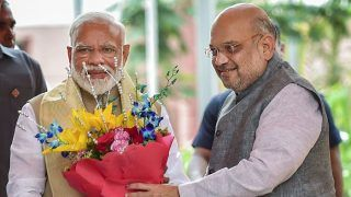 UP Lok Sabha Election 2019 Results: अखिलेश-मायावती-प्रियंका पर भारी मोदी लहर, 55 से अधिक सीटों पर आगे BJP