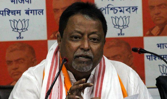 BJP leader Mukul Roy