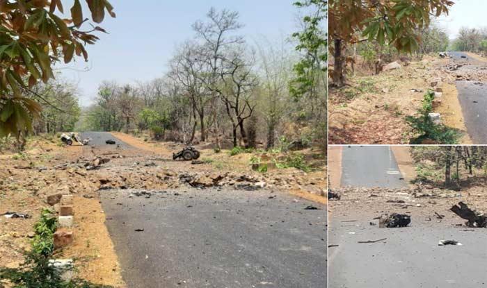 Naxal Blast in Gadchiroli