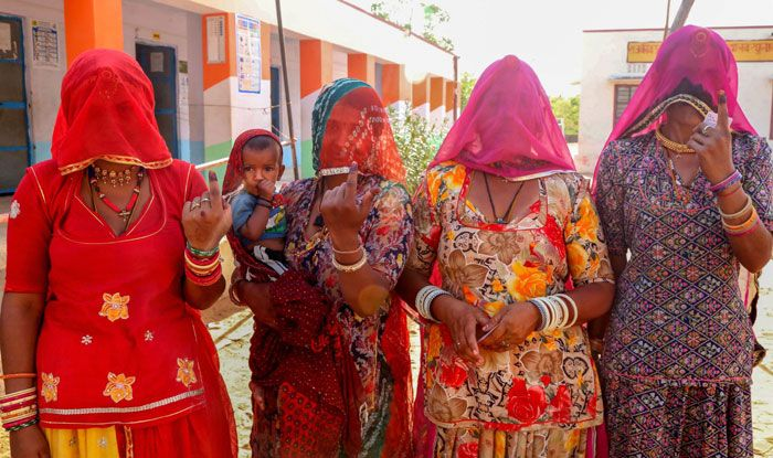 Polling in Rajasthan