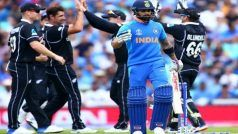 World Cup Warm Up: Batsmen Display Sluggish Form as India Lose to New Zealand by Six Wickets