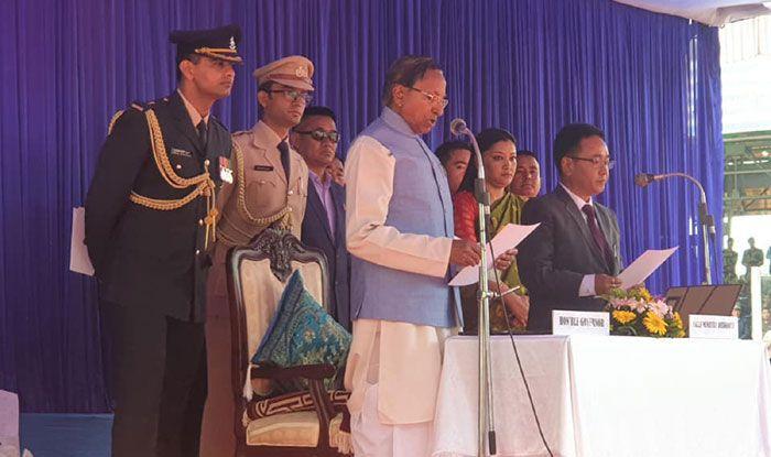 Arunachal Pradesh: Pema Khandu sworn in as chief minister