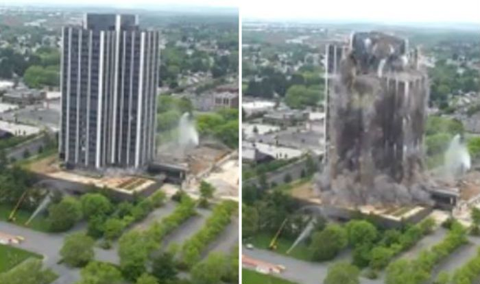 Pennsylvania tallest building demolished