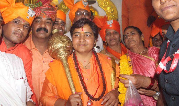 BJP candidate Pragya Singh Thakur