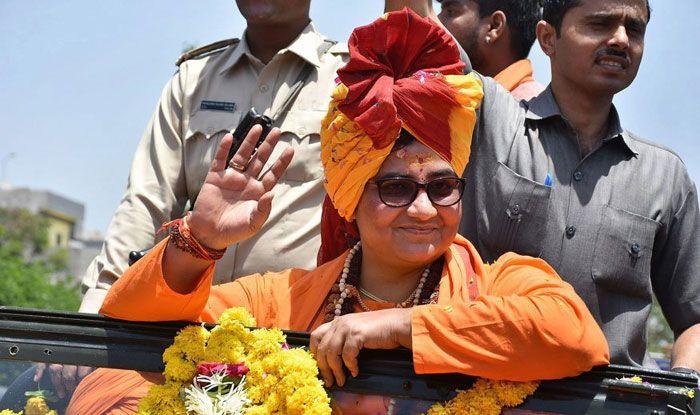 BJP candidate Sadhvi Pragya Thakur